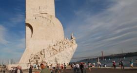 13 Lizbona Belem - pierwszy Henryk Żeglarz - za nim Vasco da Gama