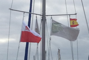 2. Flaga Ekocentrum pod salingiem