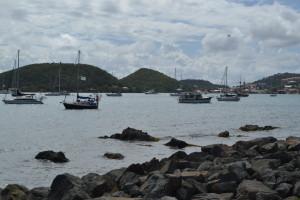 część kotwicowiska Charlotte Amalie