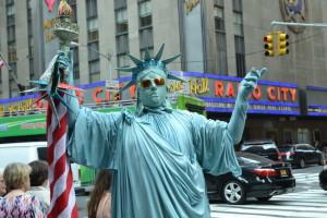Statua Wolnosci - troche inna niż sie spodziewałem